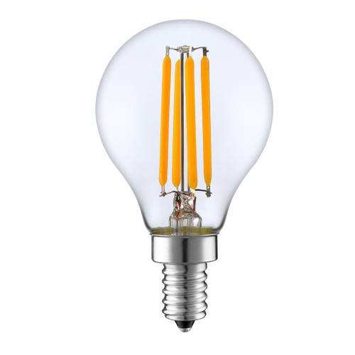 LED Edison Filament Lamp, Dimmable, 4W, 350 Lm, E12, 2700K