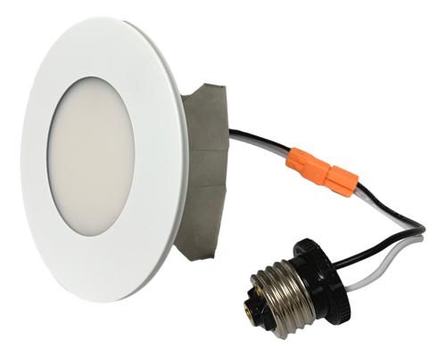 """4"""" 5CCT Multiple Application Recessed Light with Interchangeable white magnetic trims 8W 500Lumen 80CRI Dimmable 50000Hours cETLus 5-year Warranty"""