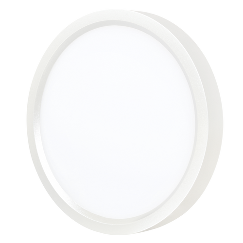 12 Inch LED Slim Surface mount downlighting, Dimmable, Round, 22W,1450 Lm, 66Lm/w, CRI 80, Damp/Wet listed