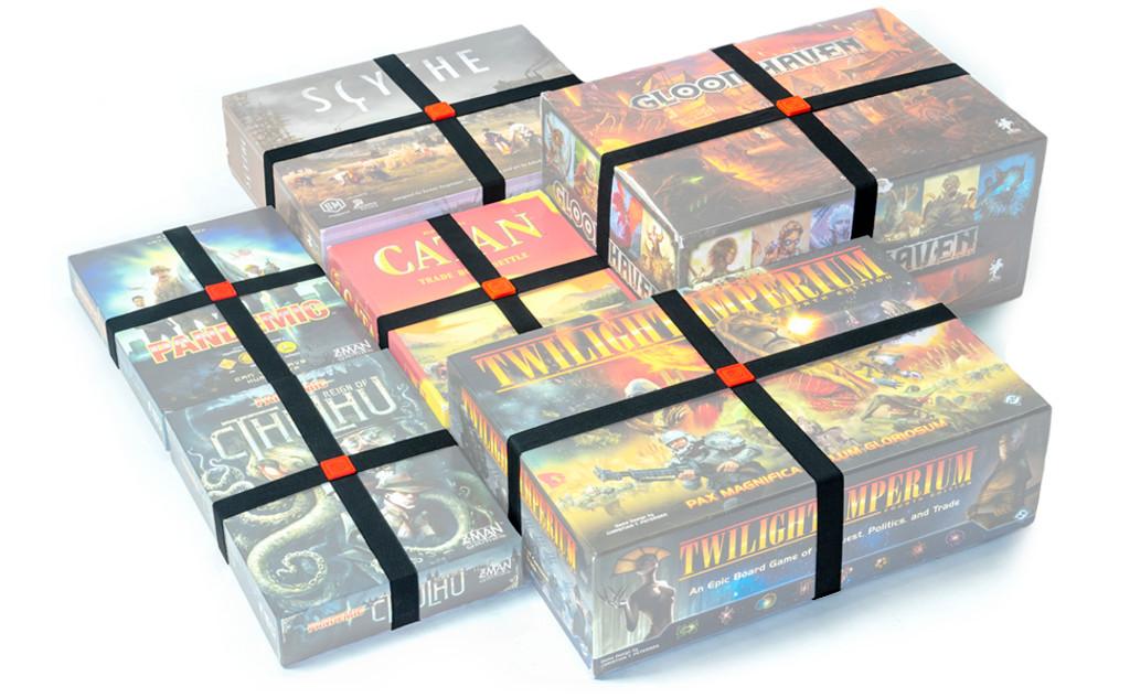 Elastic Box Bands (Set of 4)