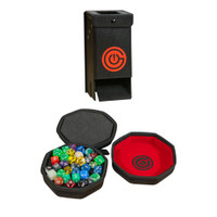 DICE CASE/TRAY & DICE TOWER BUNDLE