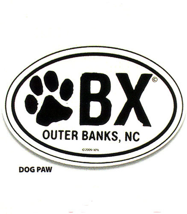 Birthday Suits OBX Paw Magnet