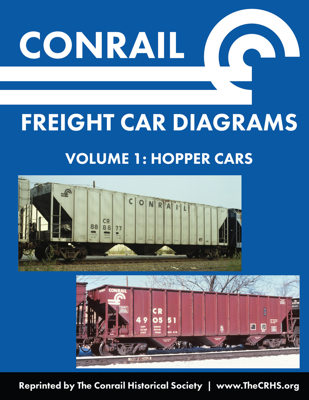 Conrail Freight Car Diagrams, Vol  1 - Hopper Cars