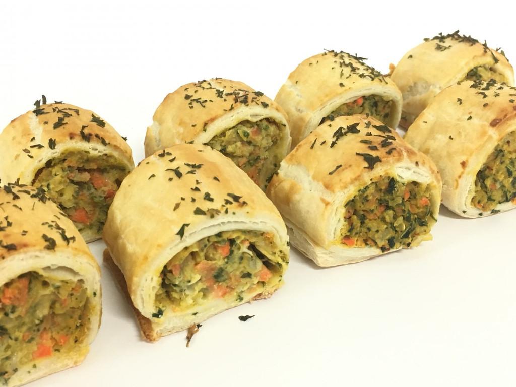 Party Veggie Rolls