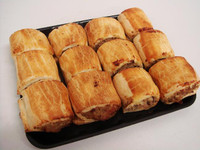 Party Sausage Roll 12 Pack