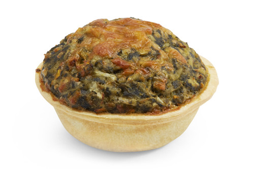 Open Spinach Pie