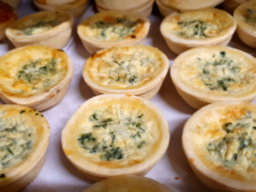 Party Quiche Spinach