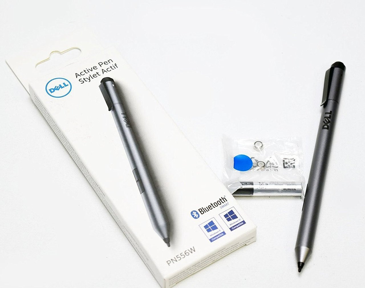 Dell Active Stylus Pen compatible with New Dell XPS 15 9570 touch XPS 9575  2-in-1 XPS 13 9365 2-in-1, Latitude 511 (5175), 11 (179), 7275, 10 Pro