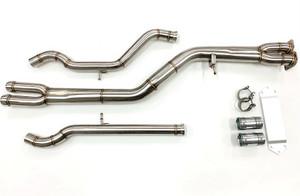 MAD BMW F8x M3 M4 Single Midpipe (Brace Included)