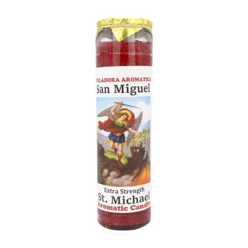 St. Michael Extra Strength Aromatic Prayer Candle