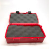 "Xikar ""Travel Humidor"" 10 Capacity Red (Watch City Logo)"