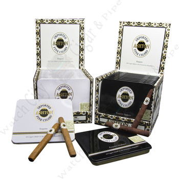 "Ashton Classic Line ""Esquire Maduro"" (Tin of 10)  4.25 x 32"