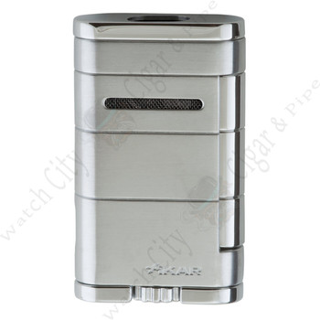 "Xikar ""Allume"" Double Lighter (Steel Silver)"