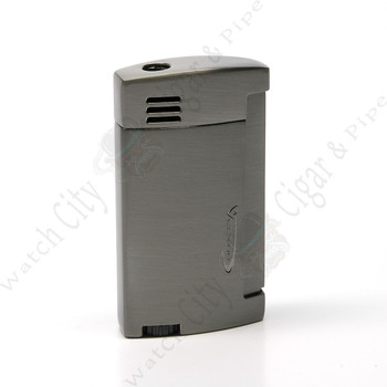 "Vector ""Magnum"" Single Lighter Gunmetal Satin"