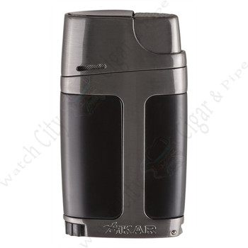 "Xikar ""ELX"" Double Lighter (Charcoal)"