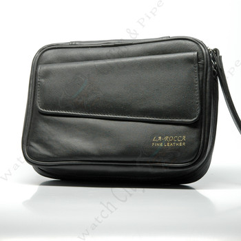 La Rocca Leather 5 Pipe Bag