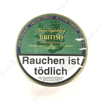 "John Aylesbury "" British"" 100g Tin (Formerly ""Finest British"")"