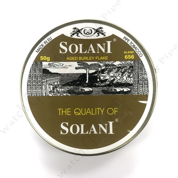 "Solani ""Aged Burley Flake"" 50g Tin"