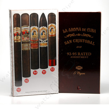 La Aroma de Cuba & San Cristobal 92-95 Rated Assortment