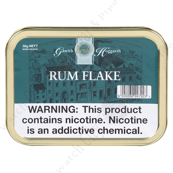 "Gawith Hoggarth & Co. ""Rum Flake"" 50g Tin"