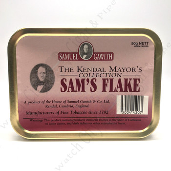 "Samuel Gawith Mayor's Collection ""Sam's Flake"" 50g"