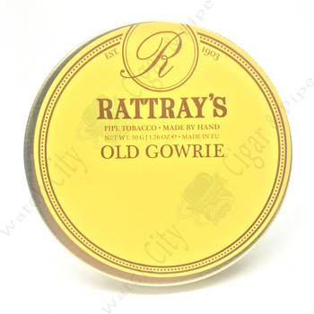 "Rattrays ""Old Gowrie"" 50gr Tin"