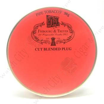 "Fribourg & Treyer ""Cut Blended Plug"" 50gr Tin"