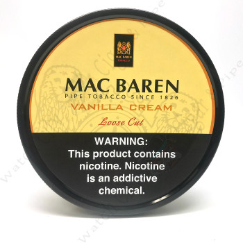 "Mac Baren ""Vanilla Cream Loose Cut"" 100g Tin"