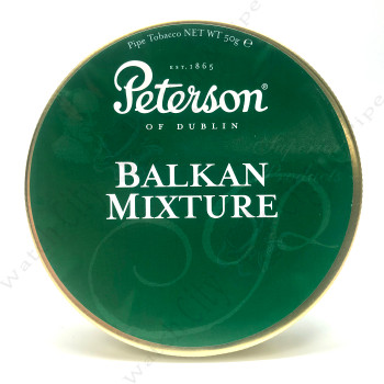 "Peterson ""Balkan Mixture"" 50g tin."