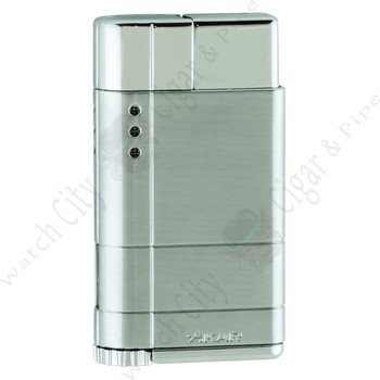 "Xikar ""Cirro"" High Altitude Single Lighter (Silver)"
