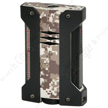 "S.T. Dupont ""Defi Extreme"" Jet Lighter Camo Desert Finish"