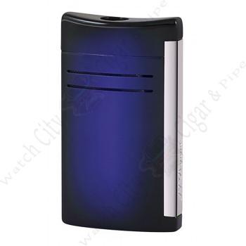 "S.T. Dupont ""Maxijet""  Lighter Sunburst Blue"