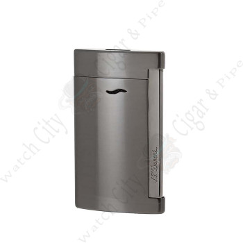 "S.T. Dupont ""Slim 7"" Jet Lighter Brushed Gun Metal Finish"
