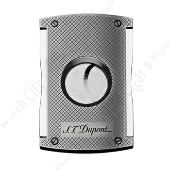"S.T. Dupont ""MaxiJet Cutter"" Chrome Grid Finish"