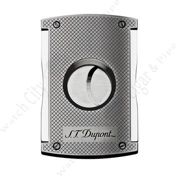 "S.T. Dupont ""MaxiJet Cutter"" Chrome Grid Finish"