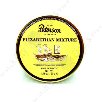 "Peterson ""Elizabethan Mixture"" 50g Tin"