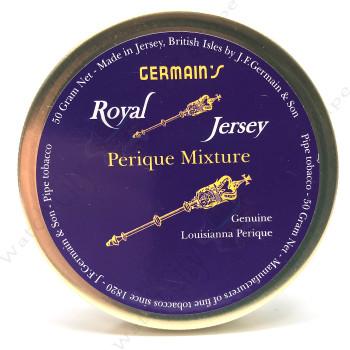"Germain's Royal Jersey ""Perique Mixture"" 50g Tin"