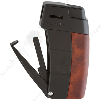 "Xikar ""Resource II"" Pipe Lighter (Amboina Burl)"