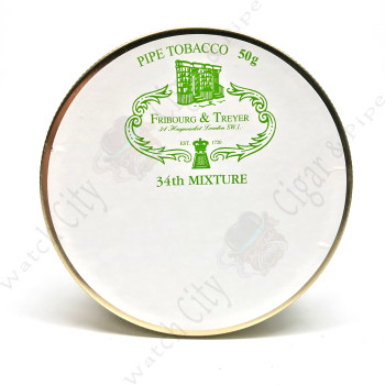 "Fribourg & Treyer ""34th Mixture"" 50g Tin"