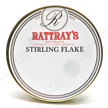 "Rattray's ""Stirling Flake"" 50g Tin"