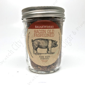 "Briarworks Tobacco ""Bacon Old Fashioned"" 2 oz Mason Jar"