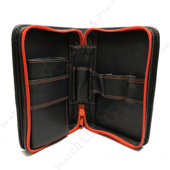4th Generation 3-Pipe Zip Case with Pouch (Ziko Black)
