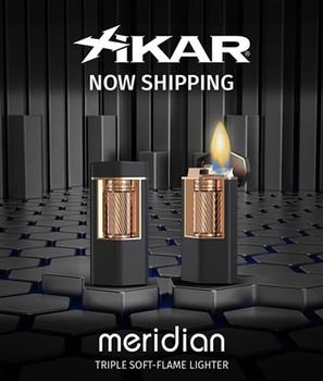 "Xikar ""Meridian"" Triple Soft Flame Lighter"