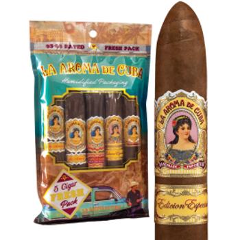 "La Aroma de Cuba ""5 Cigar Fresh-pack"