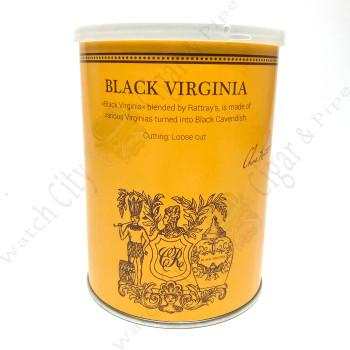 "Rattray's ""Black Virginia"" 100g tin"