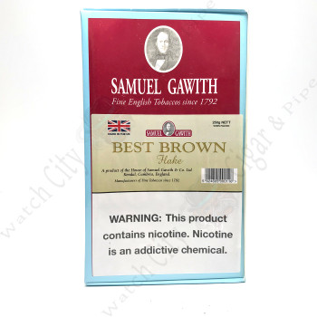 Samuel Gawith Best Brown Flake 250g Box