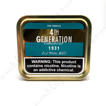 "4th Generation ""1831 Flake"" 3.5 ounce tin"