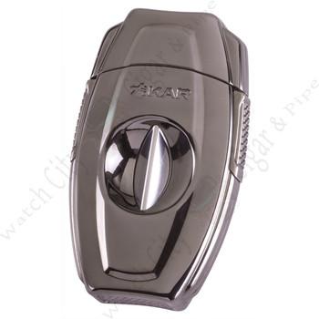 """Xikar """"VX2"""" V-Cutter (Gunmetal)"""