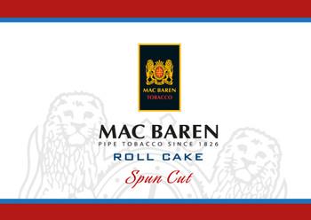 """Mac Baren """"Roll Cake"""" 3.5 Ounce Tin ("""
