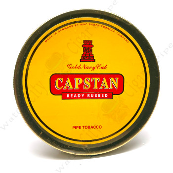 """Capstan """"Gold Navy Cut Ready Rubbed"""" 50g"""